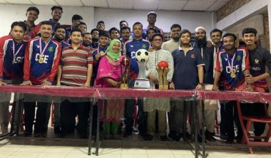 Department of CSE in Annual Sports Trophies, 2019