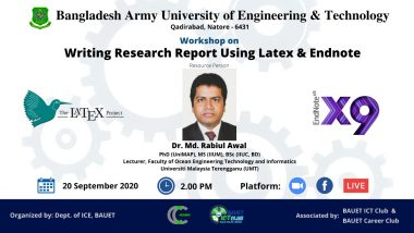Workshop on Writing Research Report Using Latex and Endnote