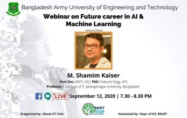 Webinar on Future Career in AI and Machine Learning