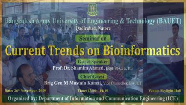 Seminar on Current Trends in Bioinformatics