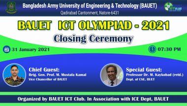 BAUET ICT Olympiad – 2021